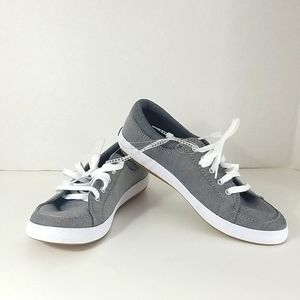 KEDS WOMENS SIZE 6 GRAY SNEAKERS NEW WITHOUT TAG